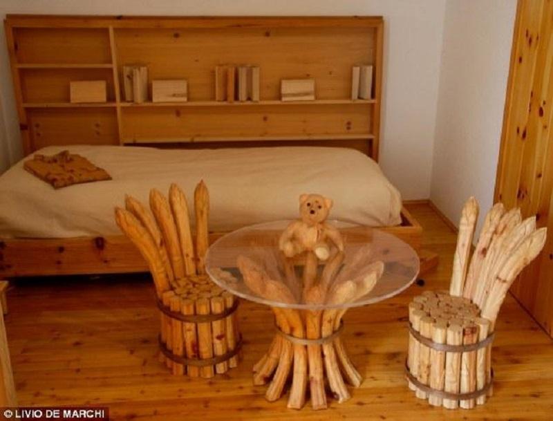 Необычные изделия из дерева (21 фото) - PostHolder.Ru
